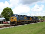 CSX 5474 on unk stack train